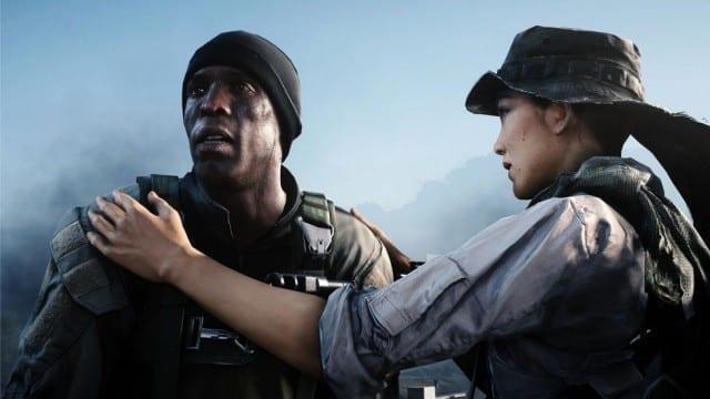 Battlefield 4 Hannah and Irish