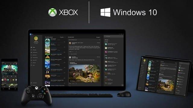 Integração entre Windows 10 e Xbox One