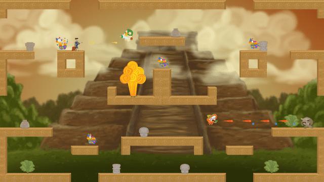 Parece Machu Picchu, mas é um dos cenários de Unnamed Fiasco