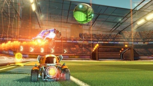Os estádios assim como os carros são bonitos e cheios de efeitos de iluminação