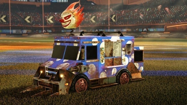 Van de Twisted Metal é exclusiva da versão de PlayStation 4