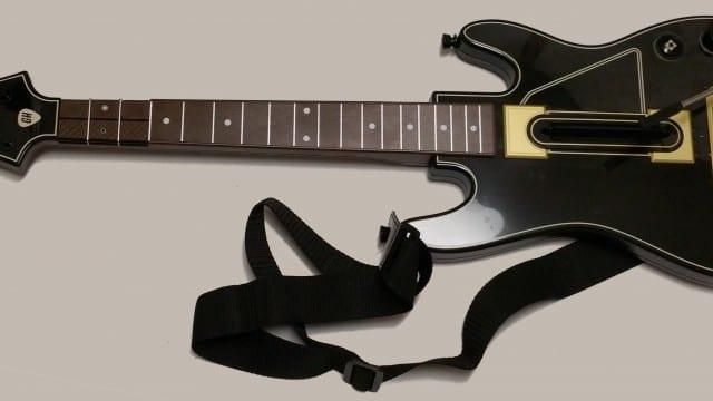 Nova guitarra de Guitar Hero Live