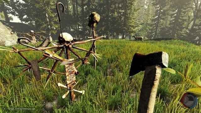 Um pouco do gameplay de The Forest