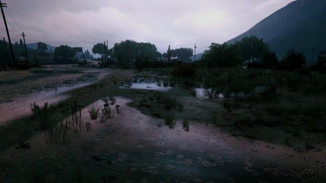 Efeito da chuva com o mod de GTA 5