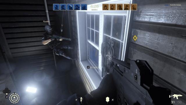 Pode entrar na casa pela janela? Em Rainbow Six Siege pode!