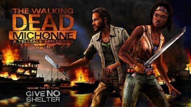 Data episódio 2 de the walking dead michonne