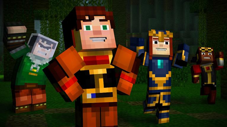 Minecraft Story Mode imagens episódio 5