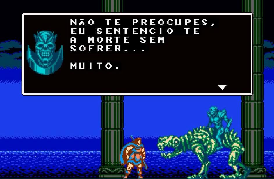 Os diálogos do jogo Odallus