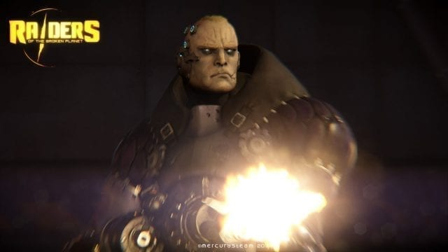 Personagem de Raiders of the broken planet