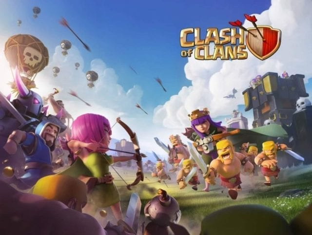 Clash of Clans e League of legends
