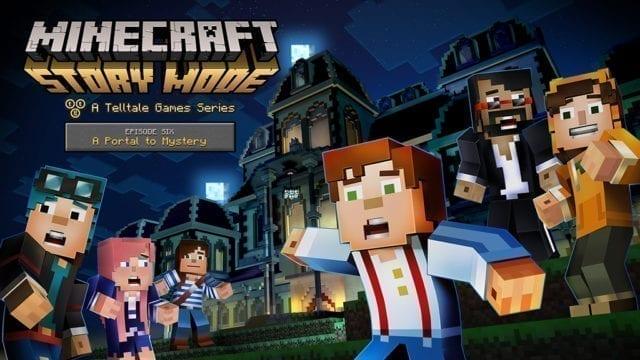 Minecraft Story mode episódio 6