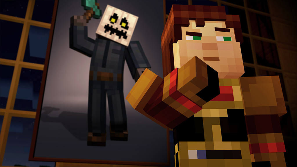 episódio de terror minecraft story mode