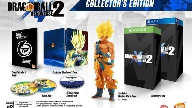 Dragon Ball Xenoverse 2 Collectors Edition