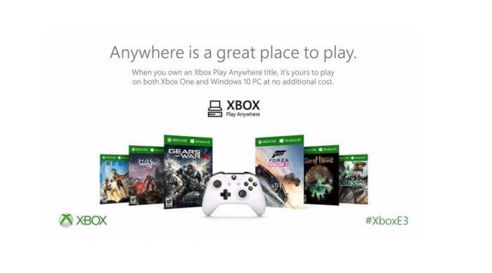 Xbox Play Anywhere programa