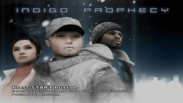 Indigo Prophecy para ps4 data lançamento