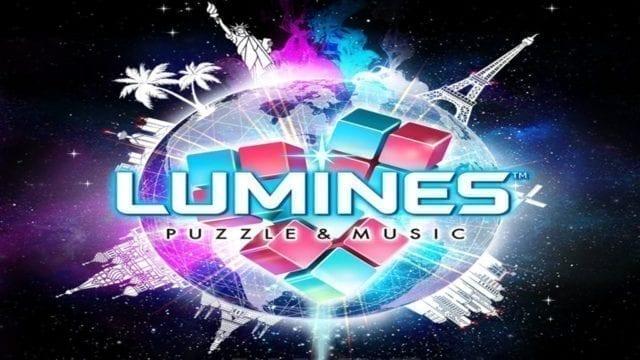 Lumines Puzzle & Music lançamento mundial