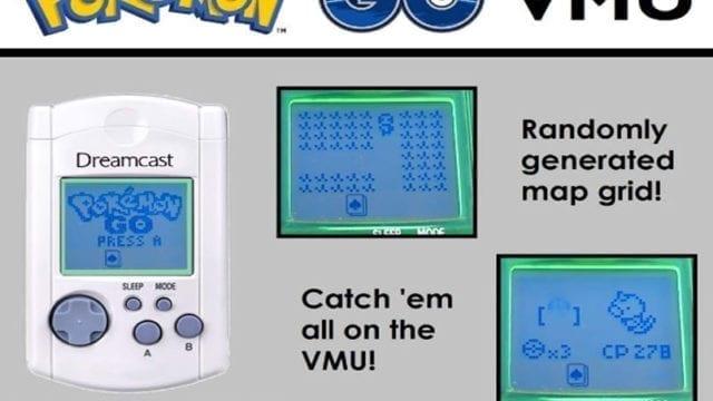Pokémon para Dreamcast VMU