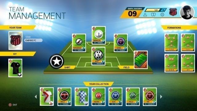 Super Button Soccer Team Management