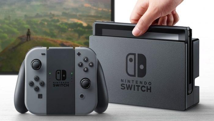 Switch e o controle doguito.