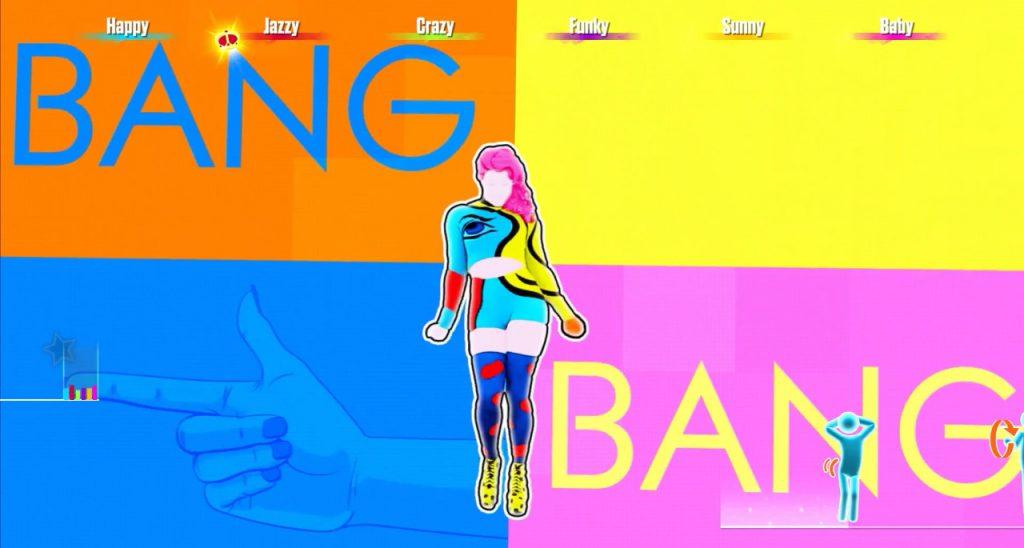 """Coreografia da música """"Bang"""" em Just Dance 2017"""