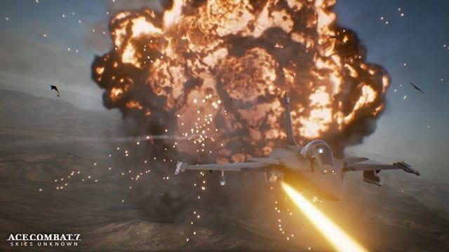 Ace Combat 7 Skies Unknown deixou de ser exclusivo para a plataforma PlayStation 4