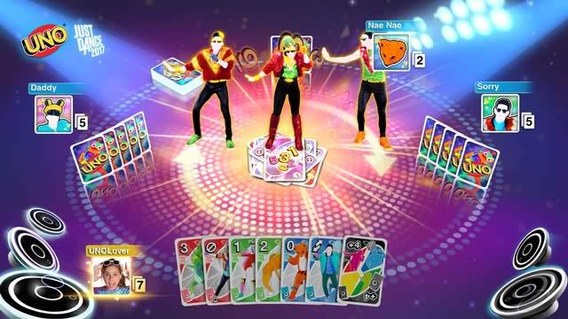 Tema de Just Dance para o jogo UNO