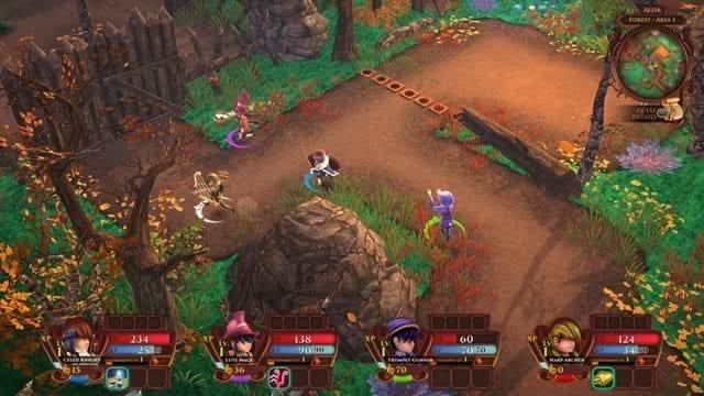 Jogo de RPG de música AereA