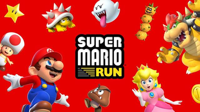 Super Mario Run data de lançamento android