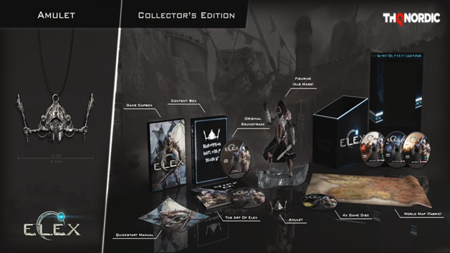 Edição de colecionador do jogo Elex