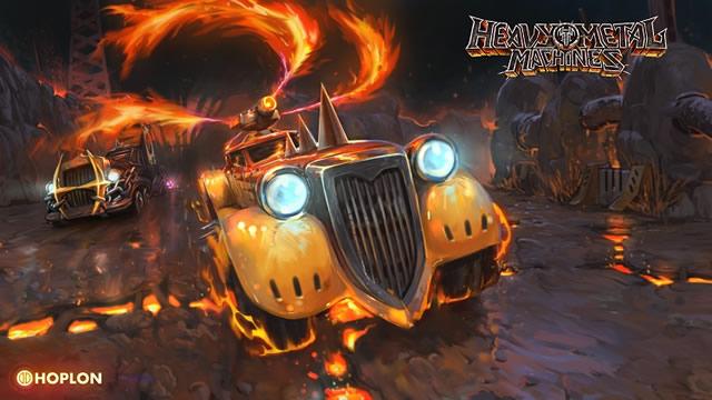 Heavy Metal Machines atualização nova 2017 antes do lançamento