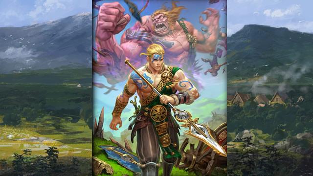 Herói Cúchulainn Smite