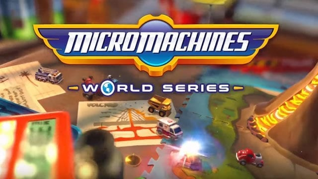 Micro Machines World Series nova data de lançamento