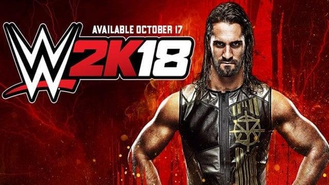 WWE 2K18 data lançamento