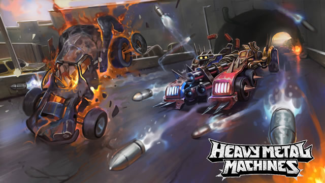 Heavy Metal Machines na Gamescom