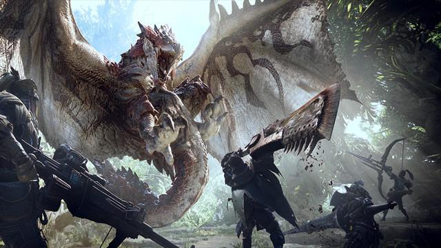 Monster Hunter World trailer e data de lançamento