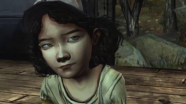 Clementine é a protagonista da primeira temporada