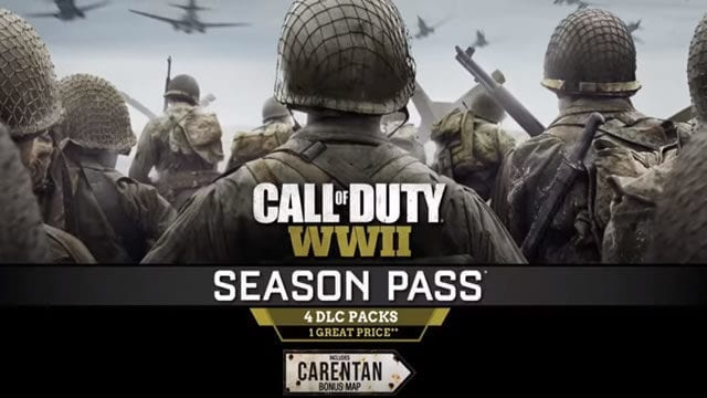 Call of Duty WWII trailer live action