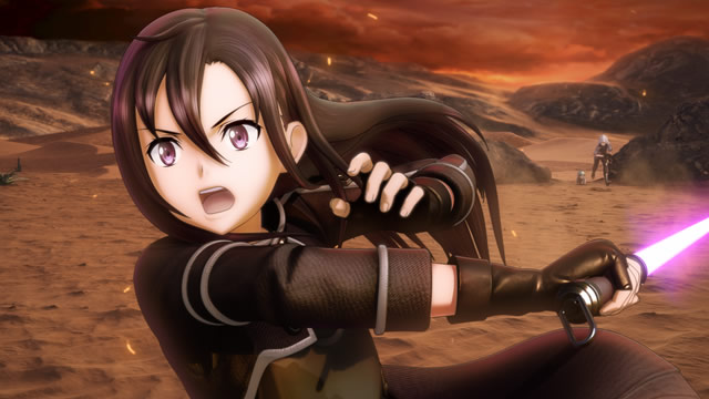Sword Art Online Fatal Bullet lançamento
