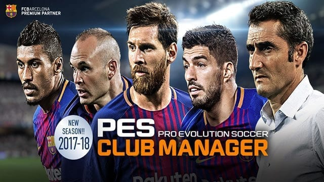 PES CLUB MANAGER atualização 2017 2018