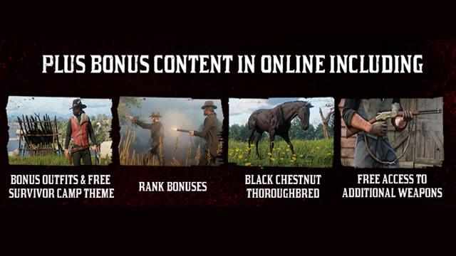 Conteúdo exclusivo Red Dead Redemption 2 edição Ultimate