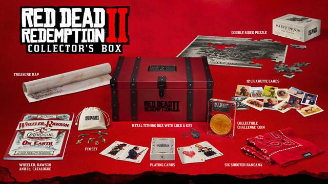 Conteúdo exclusivo Red Dead Redemption 2 edição colecionador