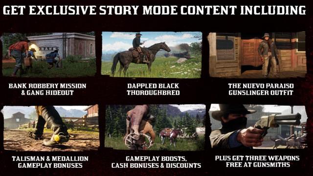 Conteúdo exclusivo Red Dead Redemption 2 edição especial