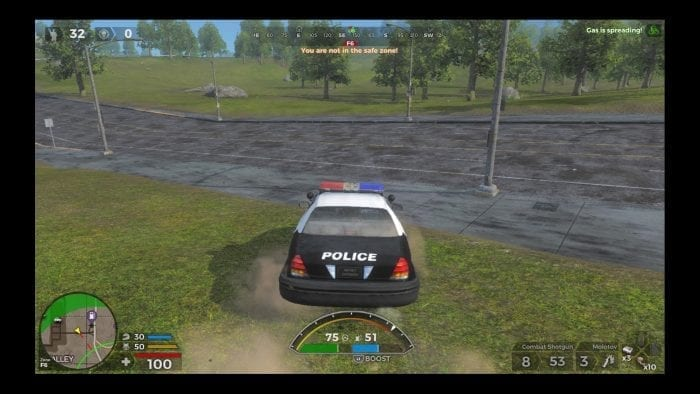 H1Z1 viatura policial