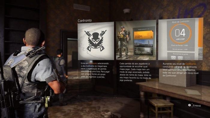 The Division 2 Confronto