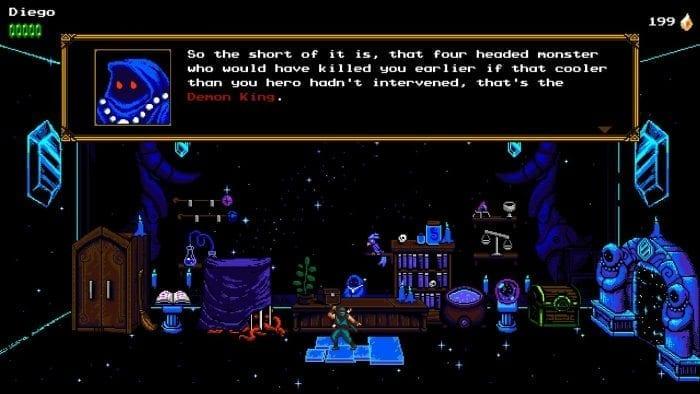 O Mensageiro encontra o misterioso Vendedor