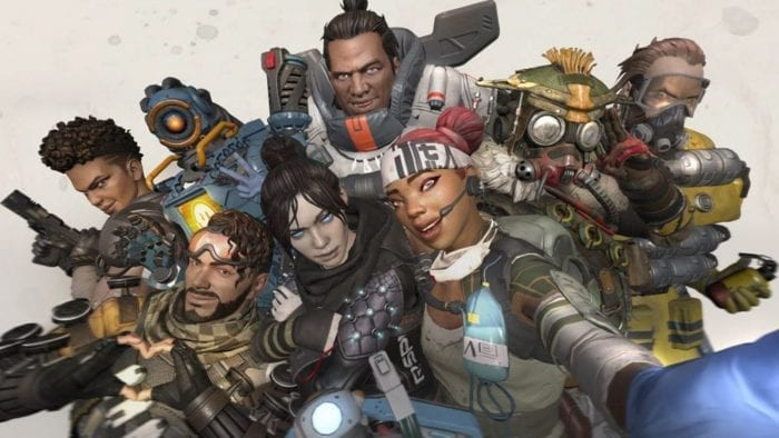 Os personagens de Apex Legends