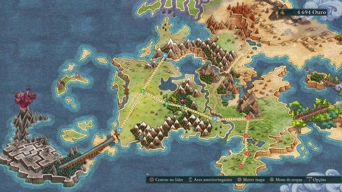 mapa-mundi de Fell Seal