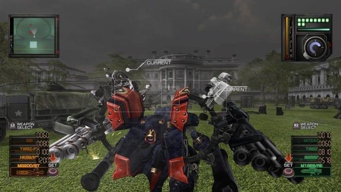 Casa Branca em Metal Wolf Chaos XD