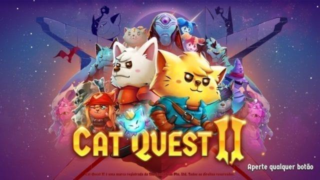 Título Cat Quest II