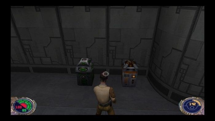 Jedi Outcast munição e escudo